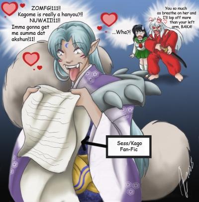 Sesshoumaru's Change of Heart