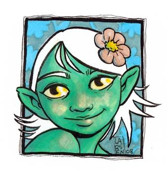 lil' fairy girl