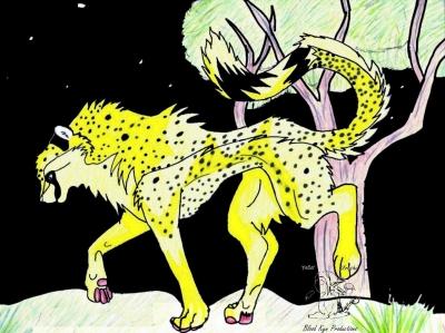 Commission: Cheetah