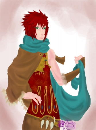 Gaia commission red haired boy
