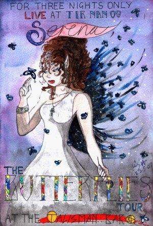 Serena - Butterflies poster