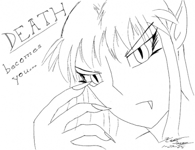 Death Becomes You - Lineart