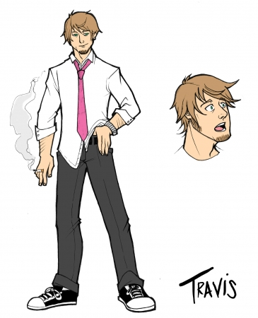 Recall character sheet: Travis