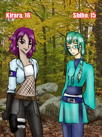 Kirara and Shiho