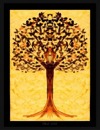 Black Angel's tree