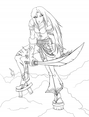 Arcana  Fighting Spirit - Line