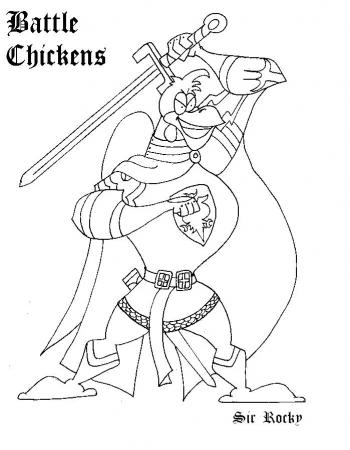 Sir Rocky - Battle Chcikens