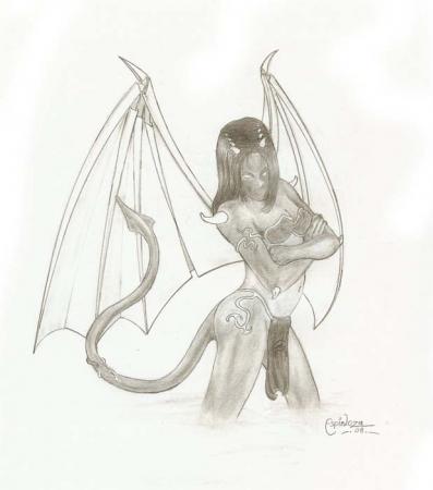 My Paper Demoness
