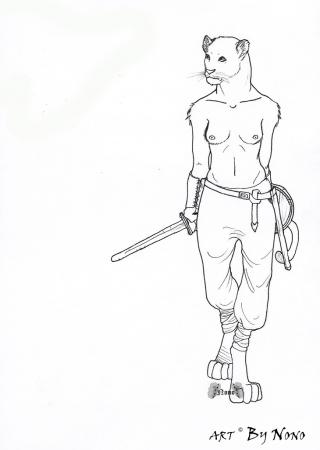 Viking lioness