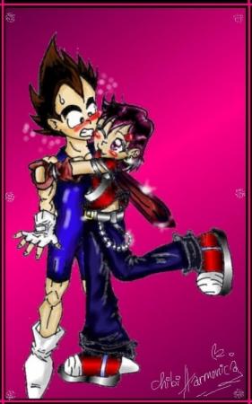 Vegeta Jr and Me