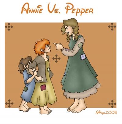 Annie Vs. Pepper