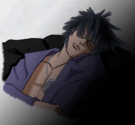 Zaku Sleeping