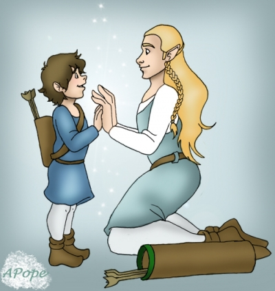 My Elvish Friend And Me