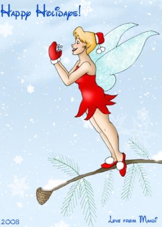 Disney Holiday Card 2008