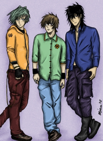 Amatsuki Trio
