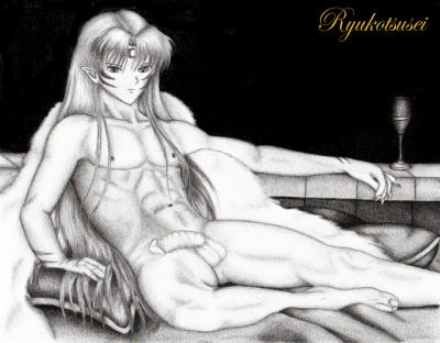 Commission: Sesshoumaru