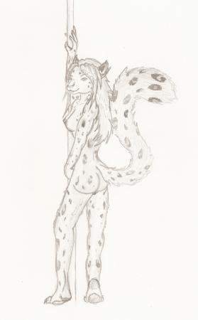 Snow Leopard Dancer