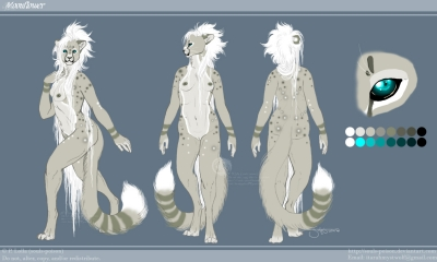 Moonflower reference - Anthropomorphic