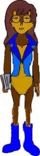 Daria as Princess Sally Acorn