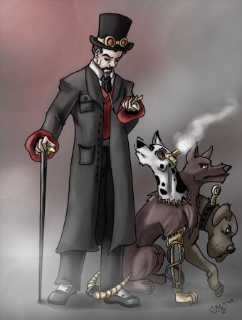 Steampunk'd: Hades & Cerebrus