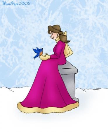Belle In Winter