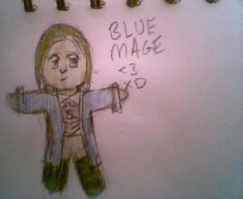 Chibi-Blue Mage