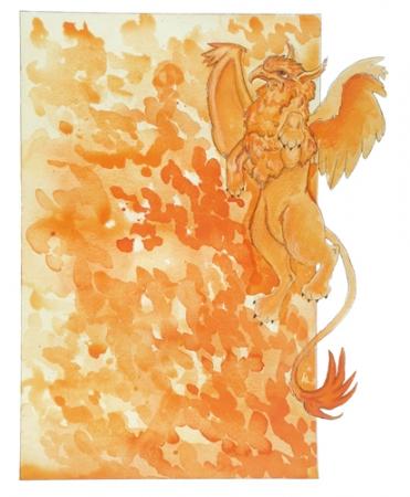 Orange Gryphon