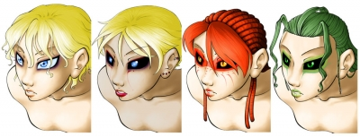 Other World Busts