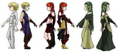 Other World Costumes