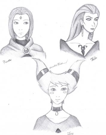 Raven  Tala  & Jinx