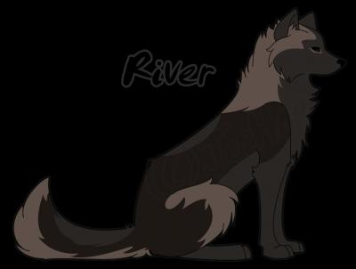 Wolf OC: River