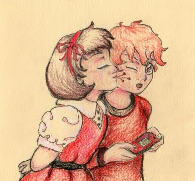 cherry flavor kiss