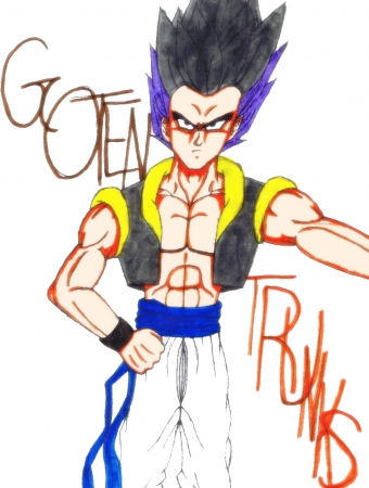 Adult Gotenks