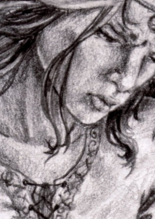 The Seamstress - Detail