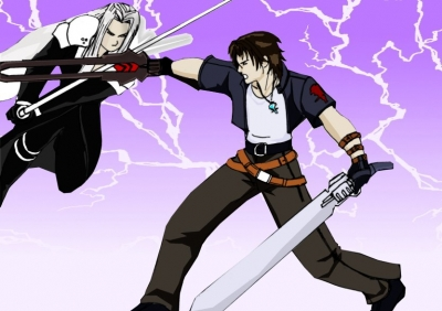 Squall vs Sephiroth