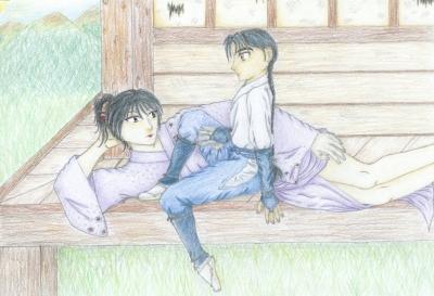Young(er) Bankotsu and Jakotsu