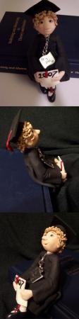 2007 graduation figurine