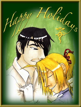 Roy/Ed - Holiday card