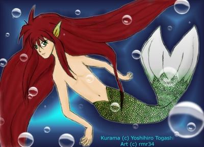 Kurama the Merman