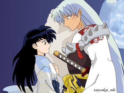 Sesshoumaru and Kagome