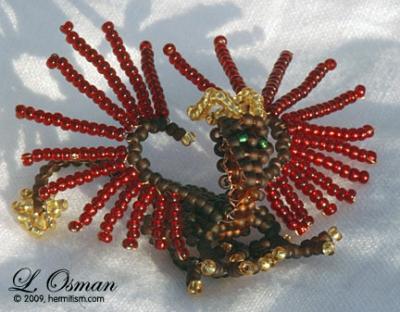 Bead Dragon 4  Dragon of Fall