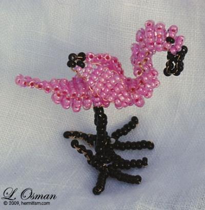 Bead Flamingo 1