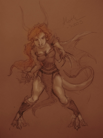 Concept art - Jotunn girl