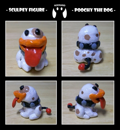 poochy mini figurine