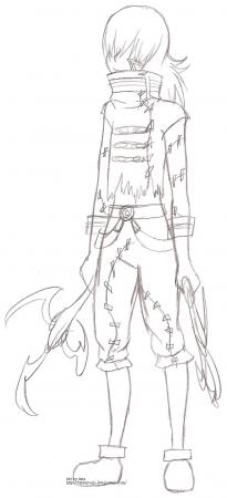 Dull sketch - AF Kite