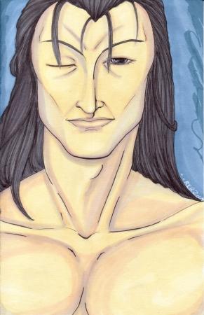 Ashram mini portrait