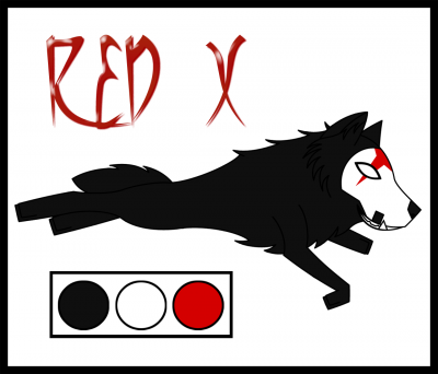 Red X Wolf