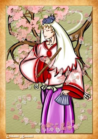 Waka from Okami