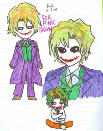 Joker chibis for Pink Snow