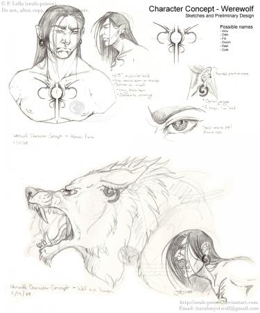 Character Concept - Werewolf